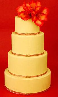 Gul tårta