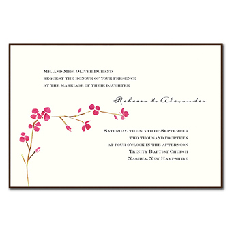 invitation consultants stationery