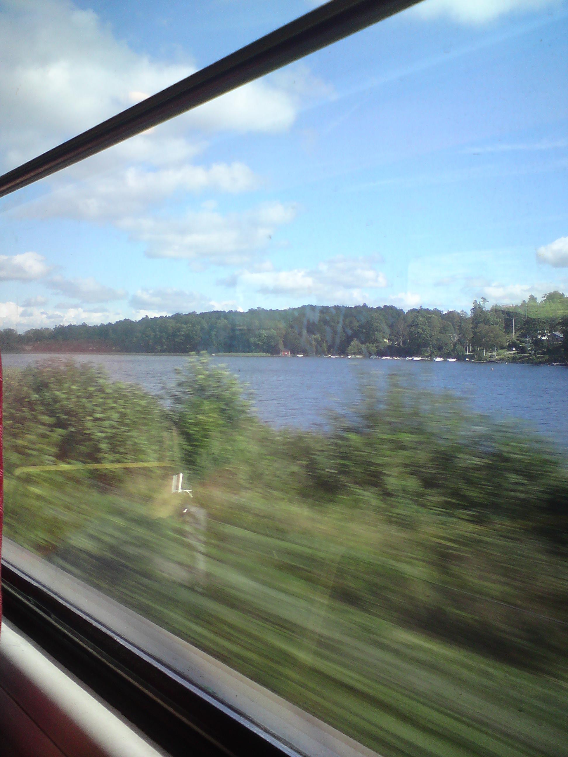 Påväg mot Göteborg