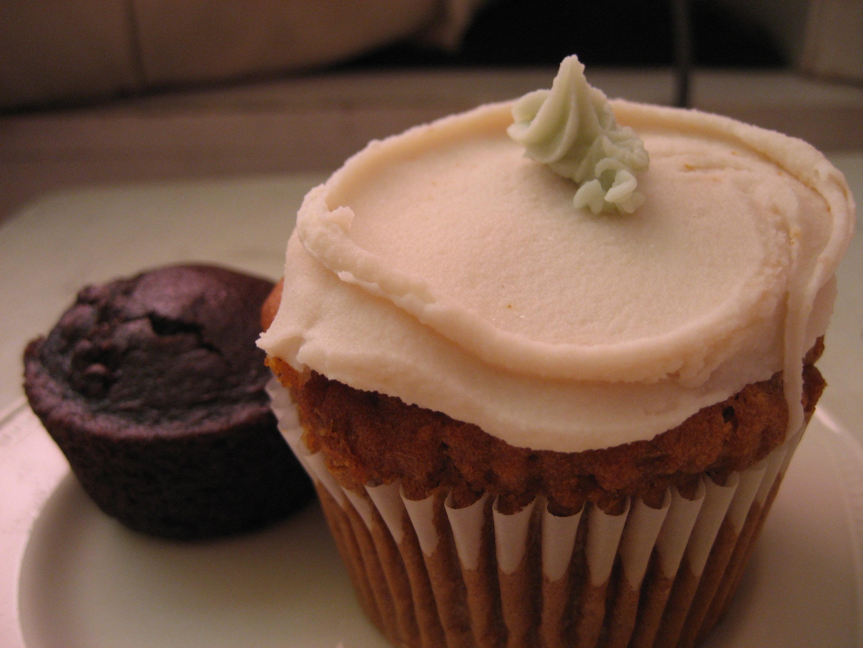 Glutenfri cupcake