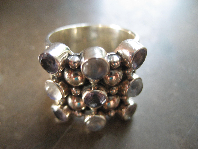 Nyfyndad silverring