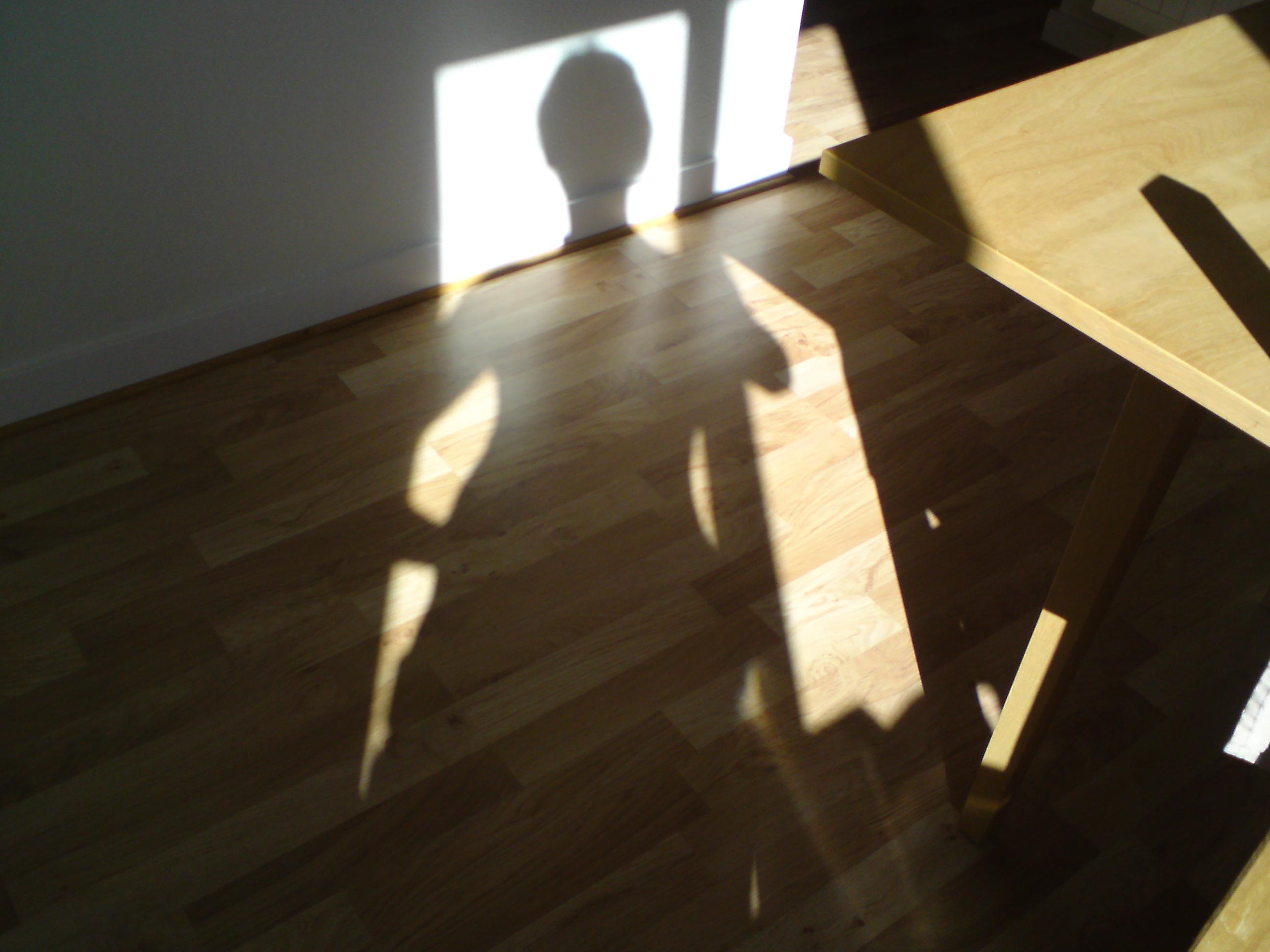 Solen skiner på mig