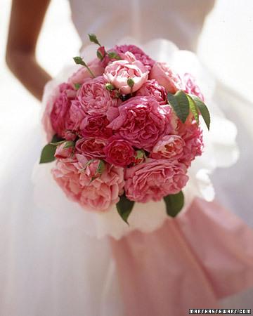 Rosa brudbukett