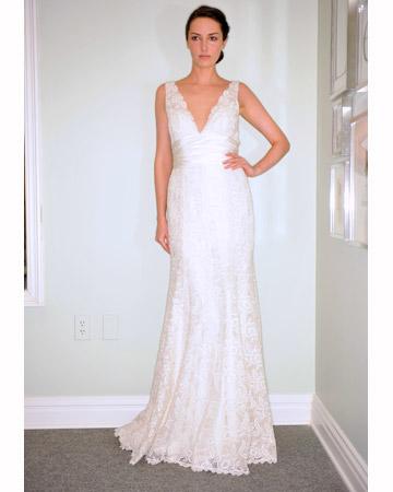 Min brudklänning från Lela Rose vår 2010